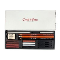 Conte Carres Sketching Studio Box