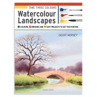 Take Three Colours Watercolour Landscapes by Geoff Kersey
