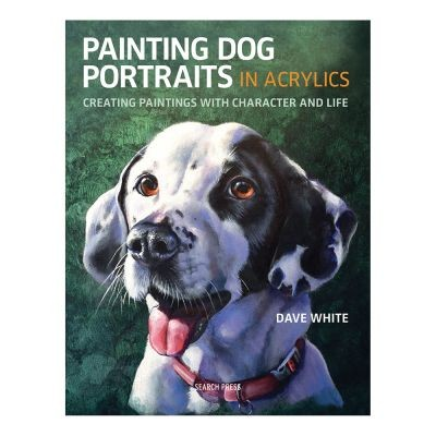 Painting Dog Portraits in Acrylics by Dave White