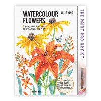 The Paint Pad Artist - Watercolour Flowers