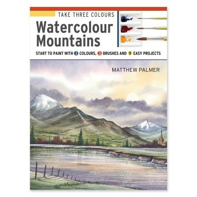 Take Three Colours Watercolour Mountains by Matthew Palmer