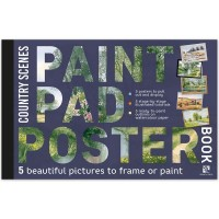 Paint Pad Poster Book - Country Scenes