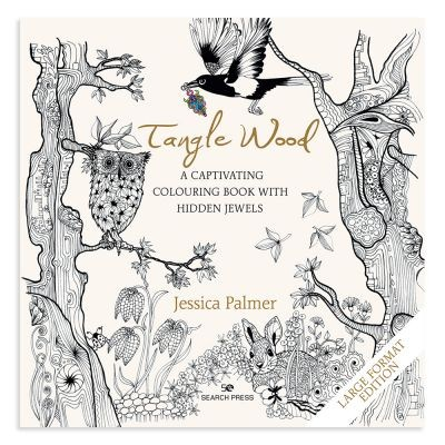 Tangle Wood Large Format Colouring Book