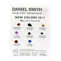 Daniel Smith New Colours 2017 Dot Card