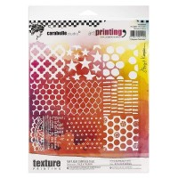 Carabelle Studio Art Printing Texture Plate with 9 Squares