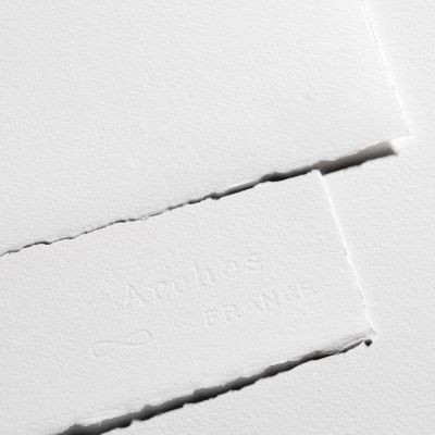 Arches Bright White Aquarelle Watercolour Paper