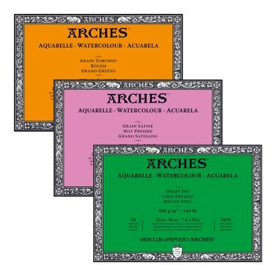 Arches 140lb Watercolour Paper Blocks