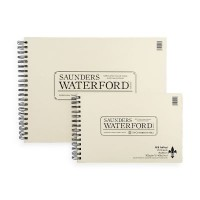 Saunders Watercolour Paper Fat Pads