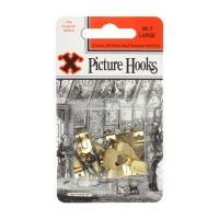 Double X Hooks - Pack of 3