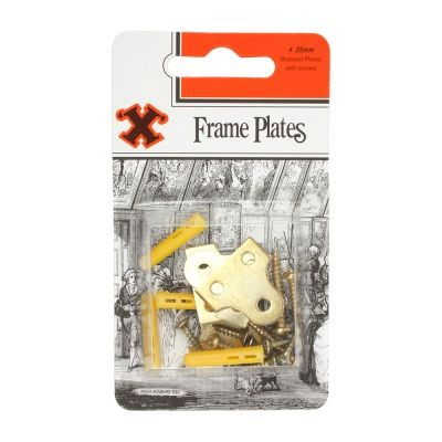 Small Frame Plates - Pack of 4