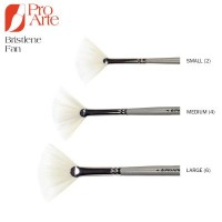 Pro Arte Bristlene Series D Synthetic Hog Fan Brush
