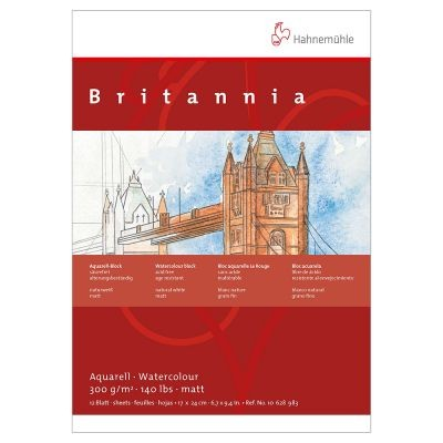 Hahnemuhle Britannia Watercolour Blocks