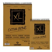 Canson XL Spiral Extra White Sketch Pads