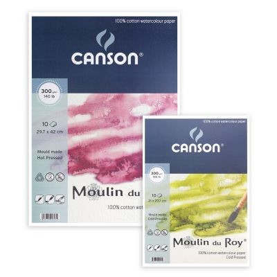 Canson Moulin Du Roy Watercolour Paper Pads