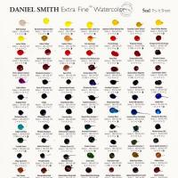 Daniel Smith Fine Watercolour 5ml Range Dot Try-It Card