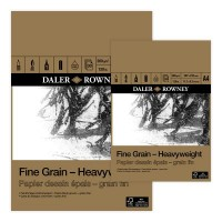 Daler Rowney Fine Grain Heavyweight 200gsm Pad