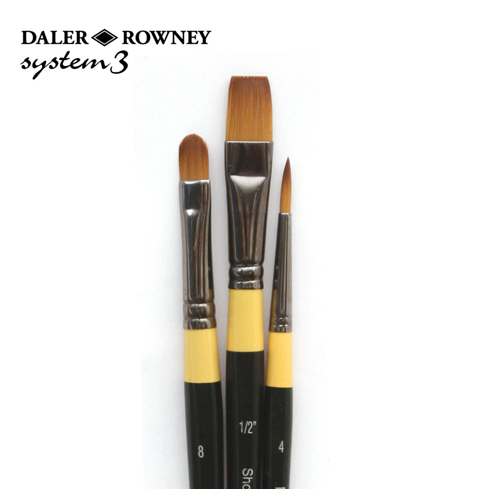 Daler Rowney System 3 Acrylic Paint Wallet Set 300