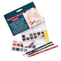 Derwent Shade and Tone Paint Pan Set