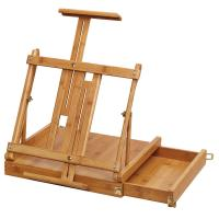 Loxley Bamboo Sketch Box Table Easel