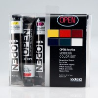 Golden Open Acrylic Intro Set 6 x 22ml Modern Colours