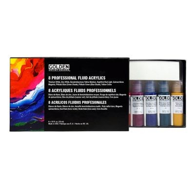 Golden Fluid Professional Set 8 x 15ml