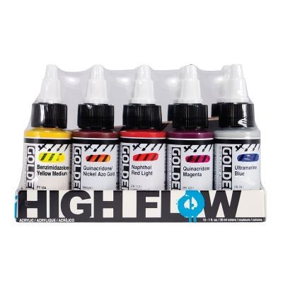 Golden High Flow Acrylic Opaque Set 10 x 30ml