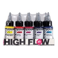 Golden High Flow Acrylic Transparent Set 10 x 30ml