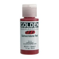 Golden Fluid Acrylic Colours 30ml Bottles