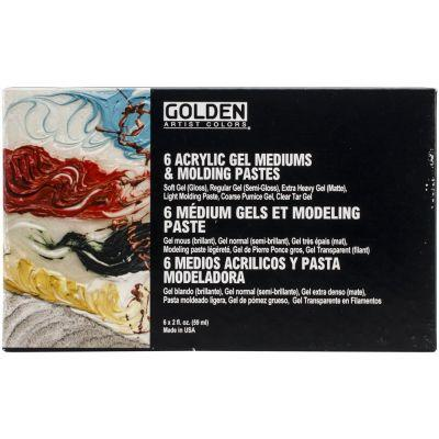 Golden Gels & Molding Paste Intro Set (6 x 59ml)