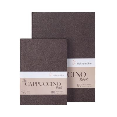 Hahnemuhle Cappuccino 120gsm Hardback Sketchbooks