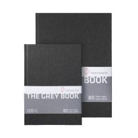 Hahnemuhle The Grey Book 120gsm Hardback Sketchbooks