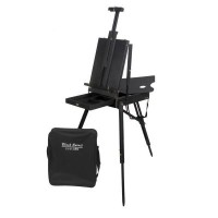 Jullian Black Spirit Easel with carry bag