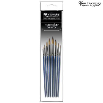 Ken Bromley Mastertouch Watercolour Brush Sets