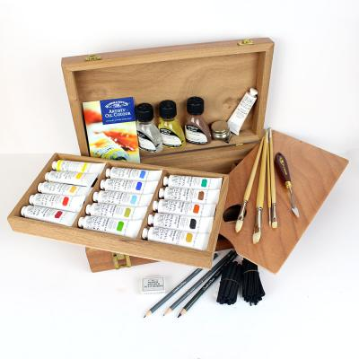 Winsor & Newton Kensington Oil Painting Wooden Box Set