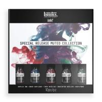 Liquitex Set of 5 x Inks Muted Collection Set