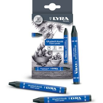 Lyra Graphite Water Soluble Crayons