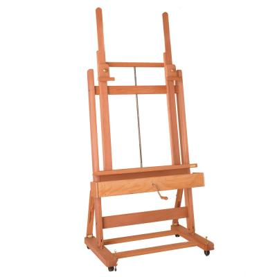 Mabef M02 Studio Easel - Double Pole with Crank