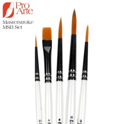 Pro Arte Masterstroke Small Brush 5 Set MSB