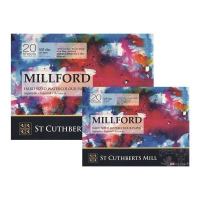 Millford 140lb Watercolour Paper Blocks