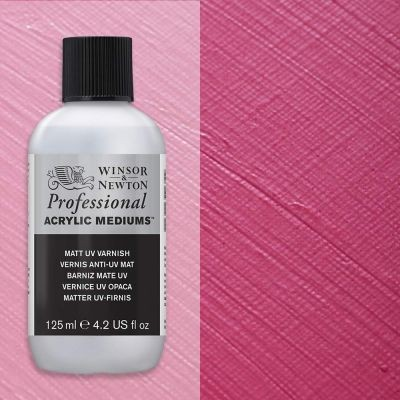 Winsor & Newton Professional Acrylic UV Matt Varnish