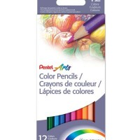 Pentel Arts Watercolour Pencil Set of 12