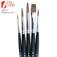Pro Arte Sablene Scholar 38WA Brush Wallet Set