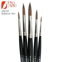 Pro Arte Sablene Scholar 38WB Brush Wallet Set