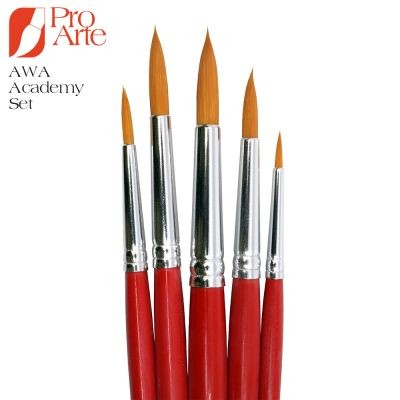 Pro Arte AWA Academy Brush Wallet Set