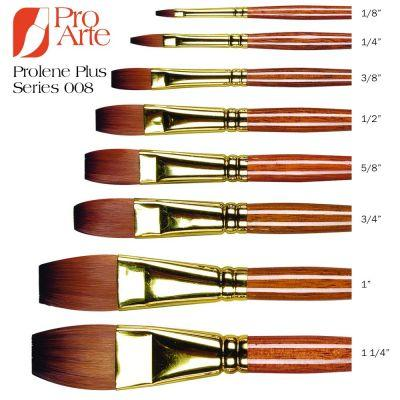 Prolene Plus Series 008 One Stroke Brush