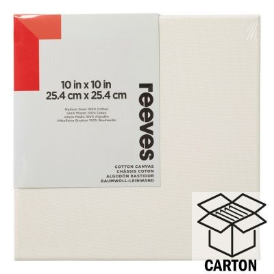Reeves Standard Stretched Canvas Cartons (Imperial)