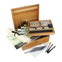 Winsor & Newton Richmond Wooden Box Set