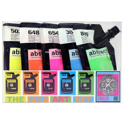 Sennelier Abstract Acrylic Pop Art Set
