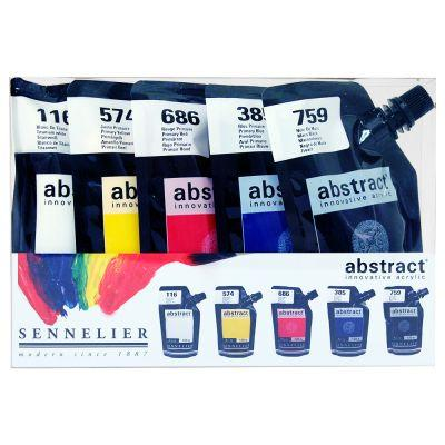 Sennelier Abstract Acrylic Primary Set