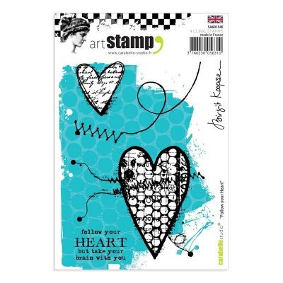 Carabelle Studio Cling Stamp Follow Your Heart